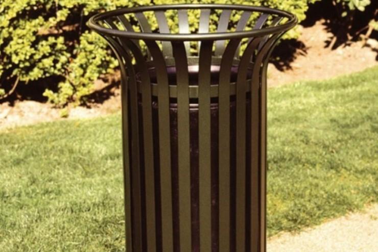 Basic Afvalbak voor buiten en binnen