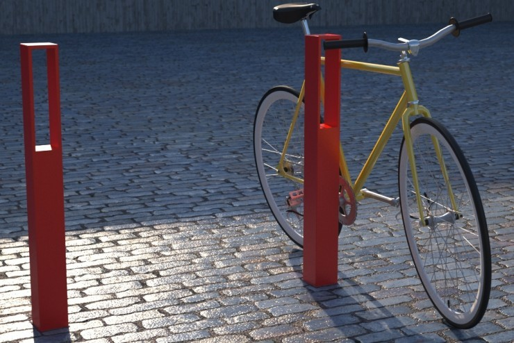 Blenda fietsbeugel beschikbaar in verschillende kleuren