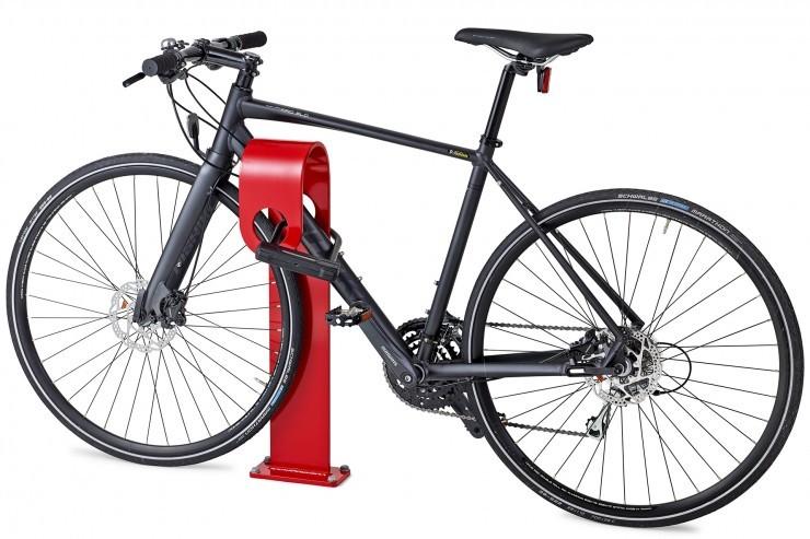 Hook fietsbeugel of fietsstandaard met vrolijk en bijzonder design