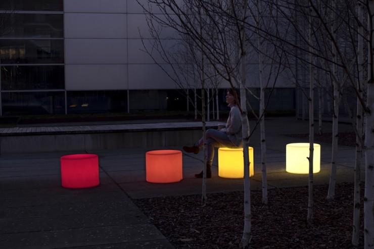HopOp 500 Light Kruk met geïntegreerde verlichting