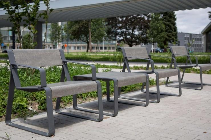 La superfine stoel voor parken, pleinen en openbare ruimtes