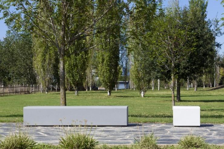Lancer Bloc Bank - bank van beton voor buiten