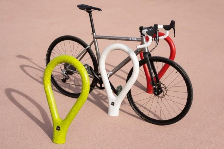 Loclock fietsbeugel kent een hip en modern design