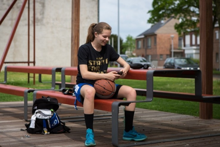 Outline picknicktafel ook geschikt voor sportverenigingen