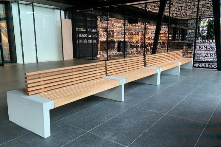 Paxa bank voor een grote zitvlak en veel zitplaatsen