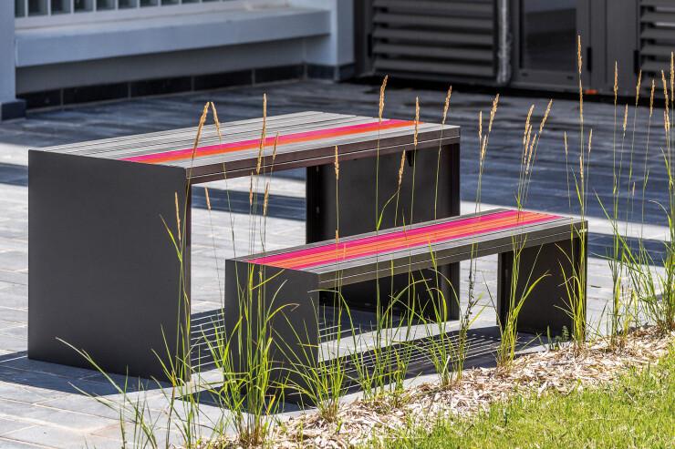 Soha Bank en Tafel vormen samen een picknickplek