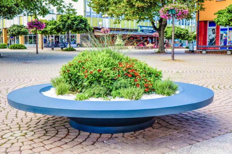 Plane Ring Lux Plantenbak voor pleinen en parken