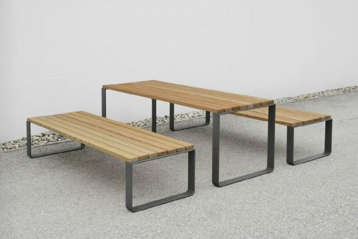 Mayfield tafel voor in de openbare en semi openbare ruimte