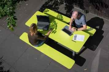 Picnic HPL picknicktafel - groen