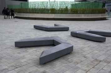 Coffin Lounge bank als samengesteld element