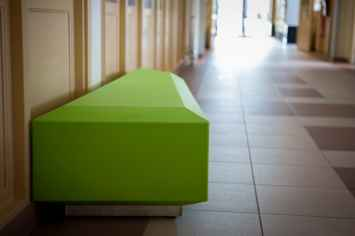 Coffin Lounge bank voor kantines en ontvangstruimtes