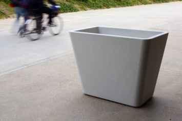 L Planter plantenbak beton - voor in de openbare ruimte