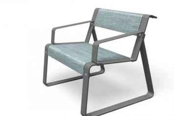 La superfine stoel van staal met hpl houten hogedruk laminaat frame straatmeubilair voor openbare buitenruimte inrichting parken pleinen parkbank hufterproof vandalisme bestendig en duurzaam in rood zwart grijs geel met armleuning rugleuning sterk