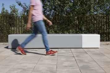 Lancer Bloc Bank perfect voor straat, park of plein
