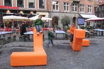 Loop Boa Zitelement voor de openbare ruimte