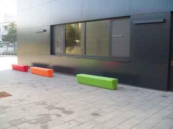 Loop Line Bank geschikt voor op het schoolplein