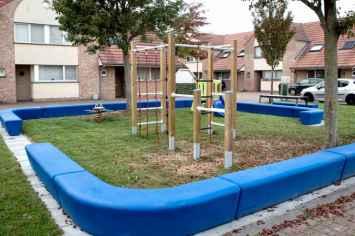 Loop Line Bank geschikt voor speeltuinen