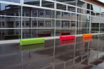 Loop Line Bank beschikbaar in verschillende opvallende kleuren