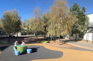 Loop Picknicktafel Up geschikt voor parken, horeca en scholen