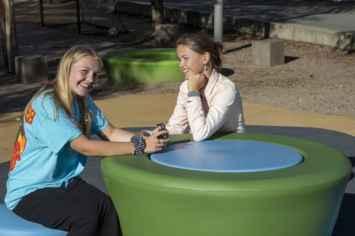 Loop Picknicktafel Up - ronde picknicktafel voor kinderen