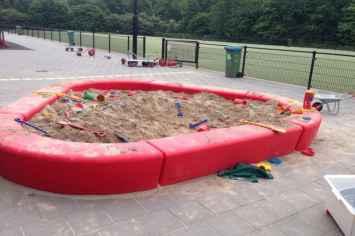 Loop zandbak - Kindvriendelijk door veilig afgeronde vormen