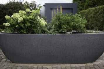 Nau plantenbak scheiden van openbare ruimtes