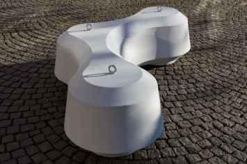Obstruct zitelement - Vandalismebestendig en hufterproof