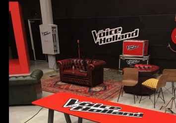 Picnic HPL picknicktafel gebruikt bij 'The Voice Of Holland'
