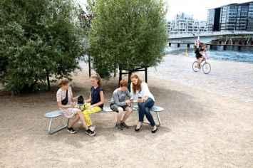 Plateau Bank geschikt voor parken, kantoren en buitenruimtes