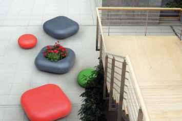 Rio plantenbak ideaal voor de openbare ruimte