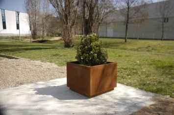 Square plantenbak voor buitenruimte