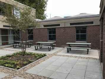 Picnic HPL picknicktafel veel gebruik op scholen