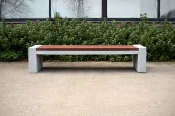 Vora bank perfect voor de (semi) openbare ruimte