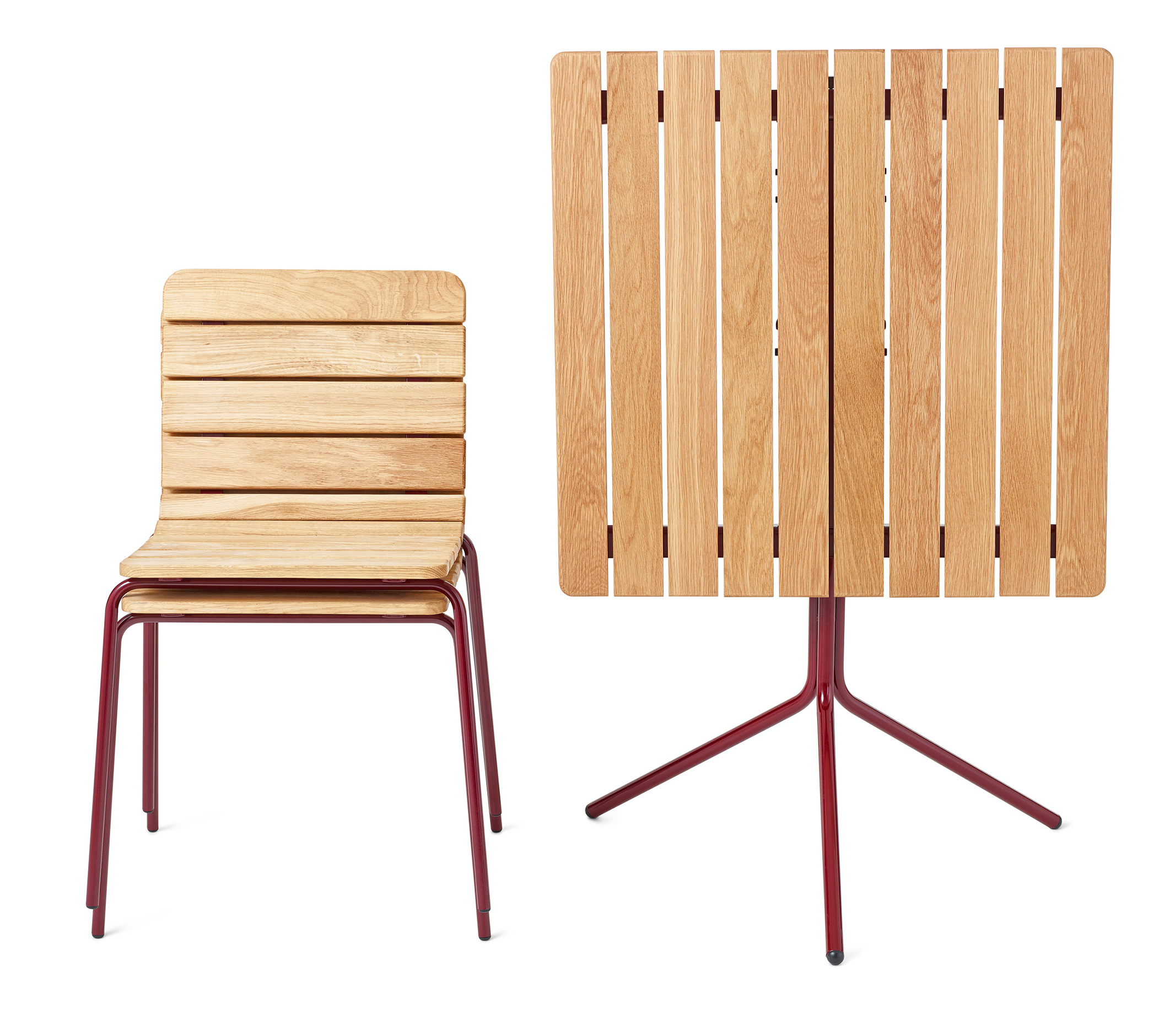 11th stoel is stapelbaar en frame beschikbaar in kleur