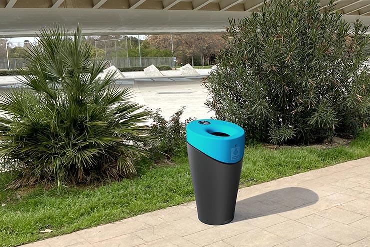 Afvalbak Alvium Urban van polyetyleen