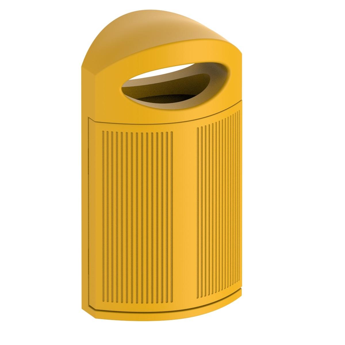 Afvalbak Ibiza in 8 zonnige kleuren
