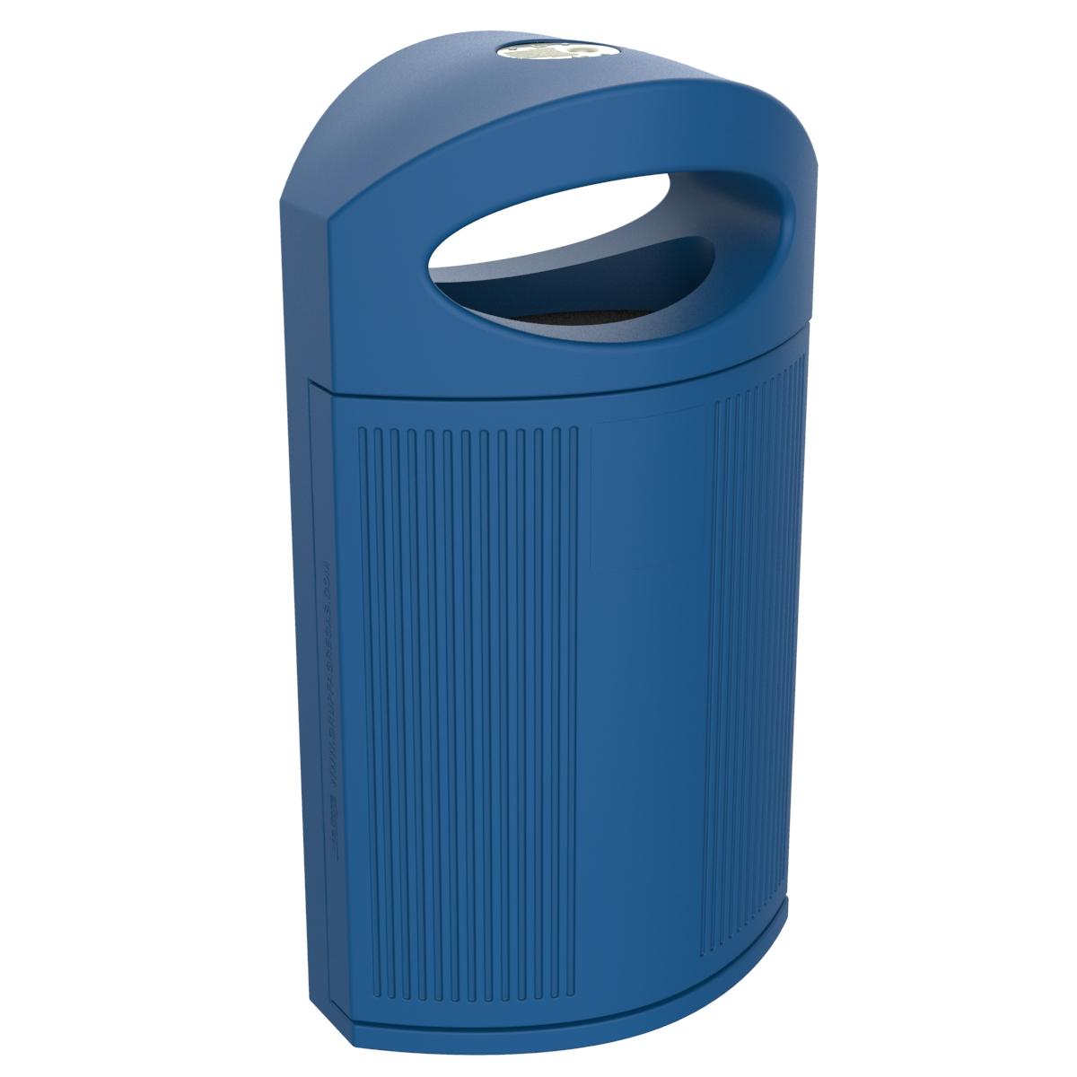 Afvalbak Ibiza voor in de horeaca - blauw