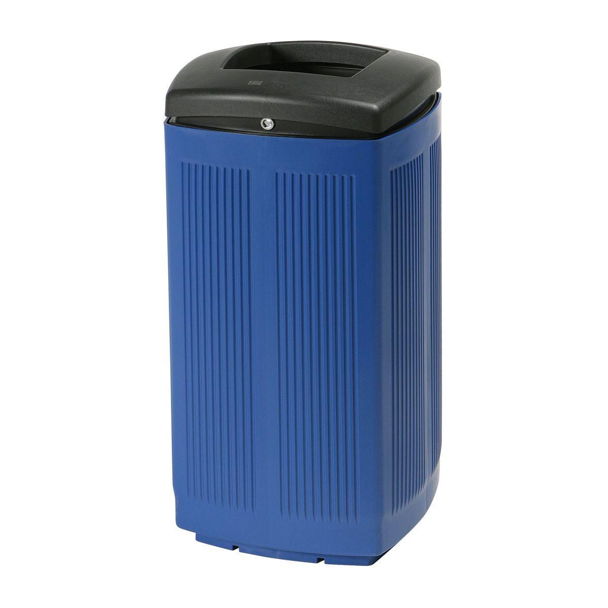 Afvalbak Toscana past in elke ruimte - blauw