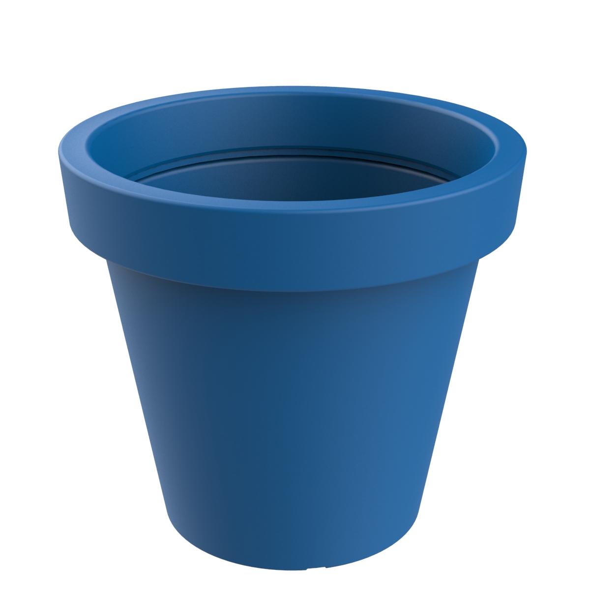 Plantenbak groot formaat - blauw