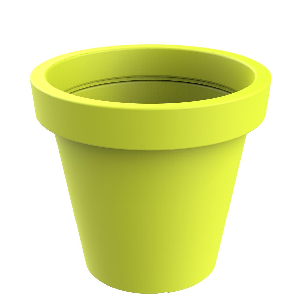 UV-bestendige plantenpot - lime groen