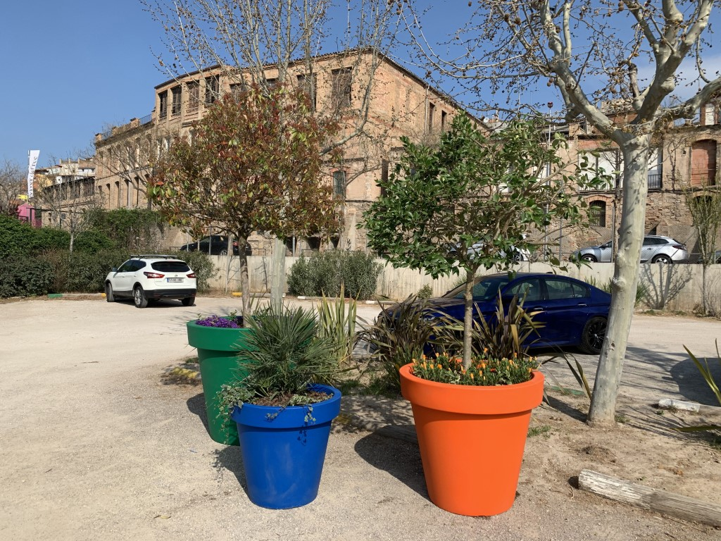 Alvium plantenbakken in 3 formaten - groen, blauw, oranje
