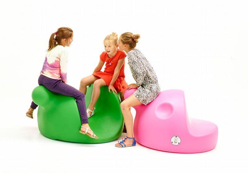 Medio's Amis Joli en Lani speelelement - groen en roze
