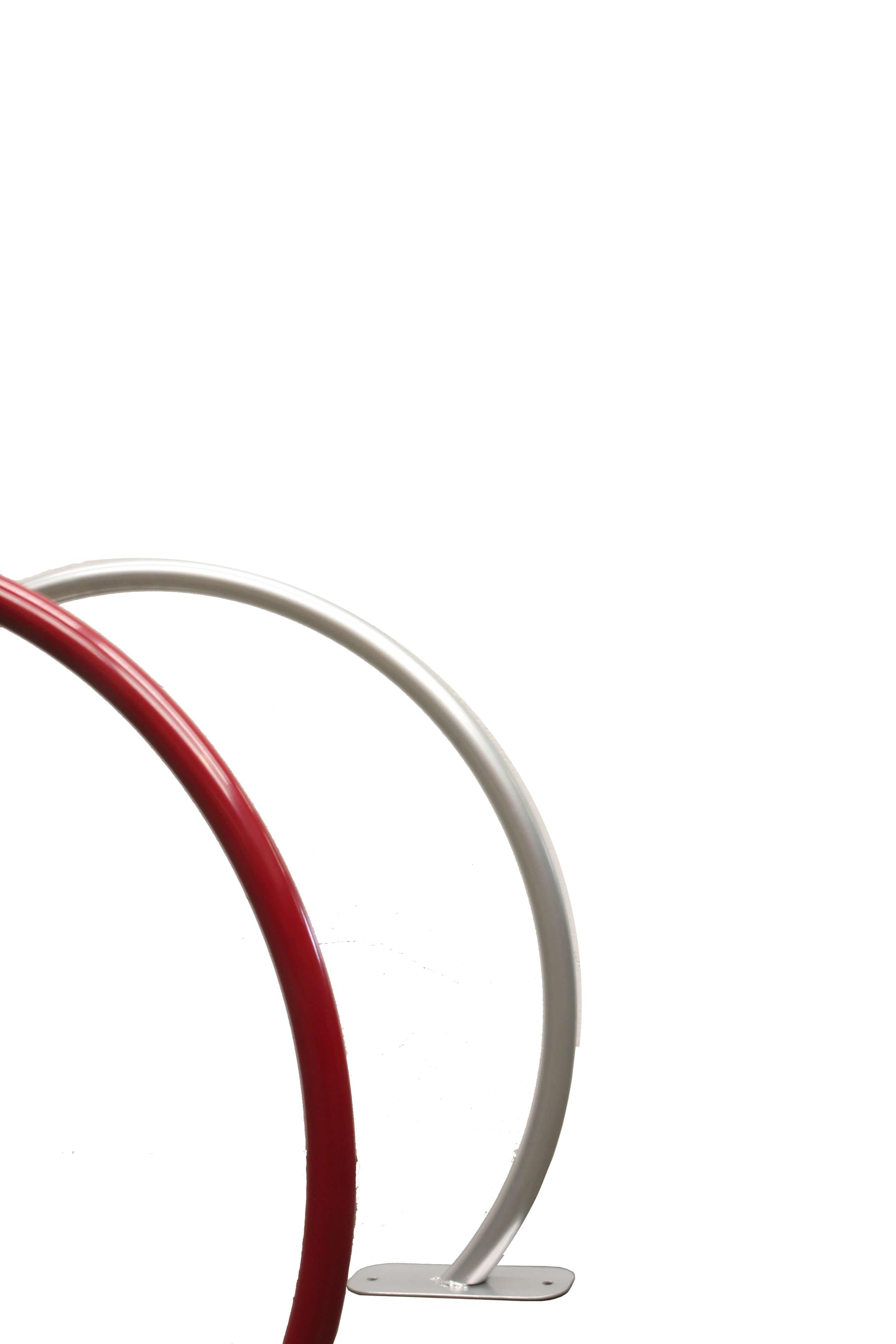 Arc fietsbeugel - gemaakt van verzinkt en gepoedercoat staal
