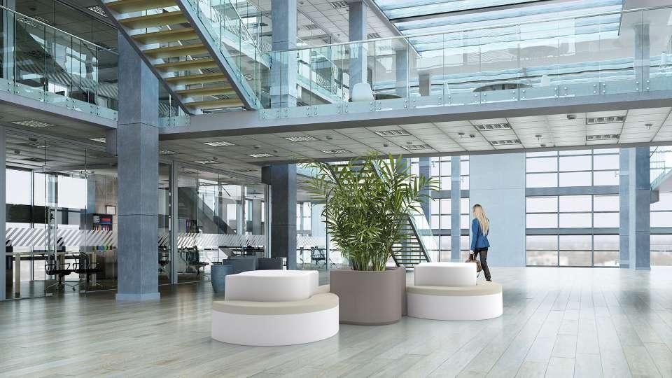 Arco bank geschikt voor kantoor, school en openbare buitenruimtes