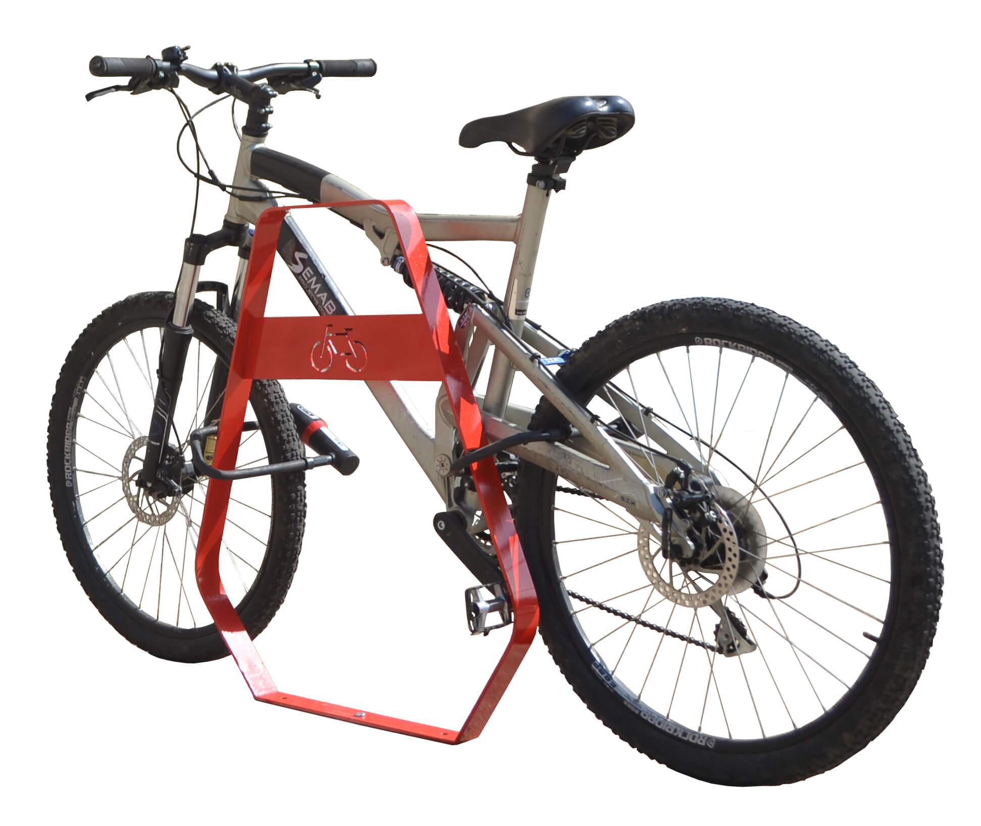 Banyoles fietsbeugel - zeer gebruiksvriendelijk
