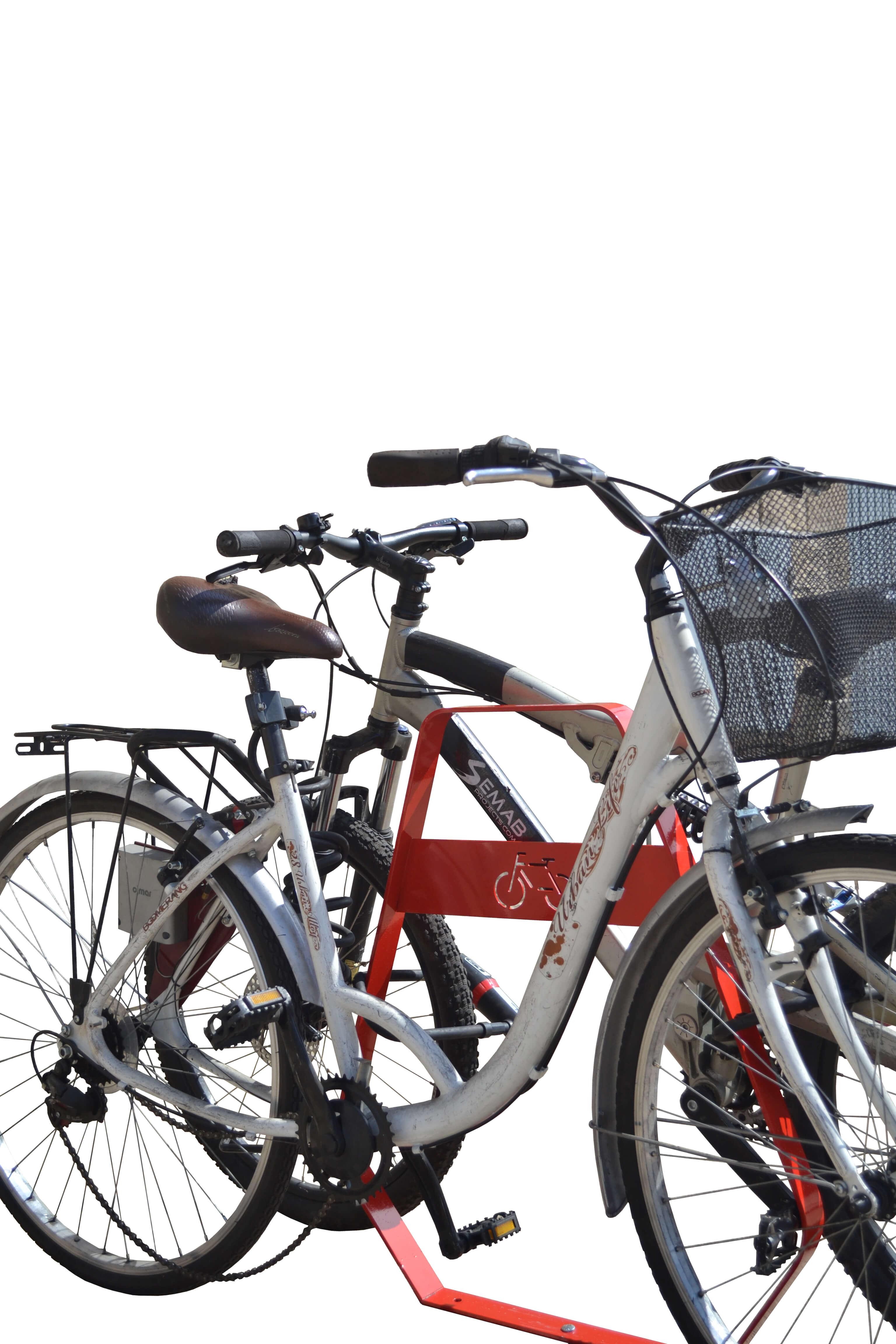 Banyoles fietsbeugel - beugel waaraan twee fietsen kunnen worden bevestigd