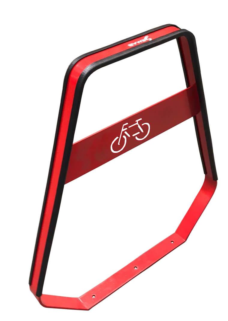 Banyoles fietsbeugel - veilig afgeronde vormen zonder scherpe randen