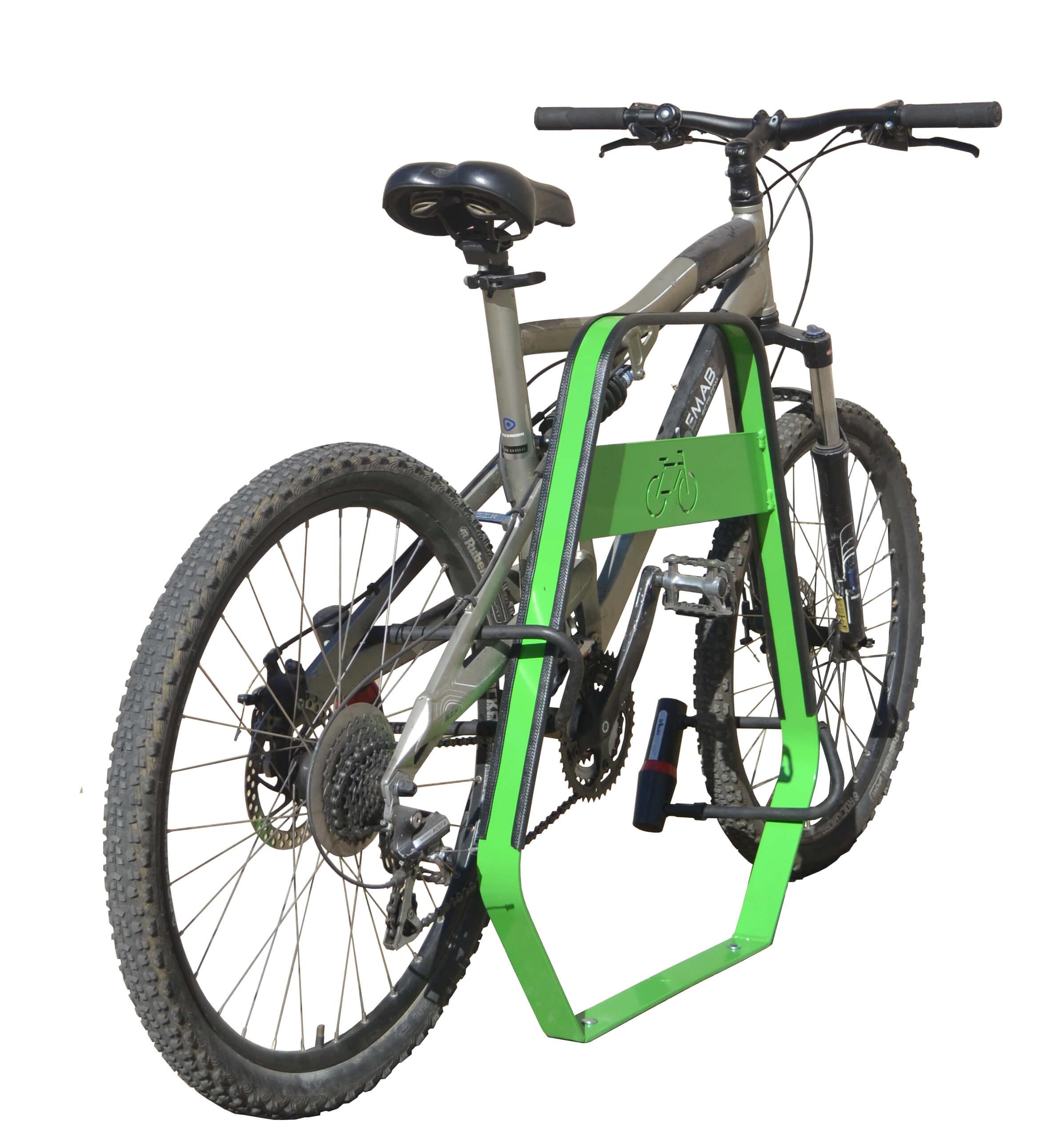 Banyoles fietsbeugel - gemaakt van (roestvrij) staal
