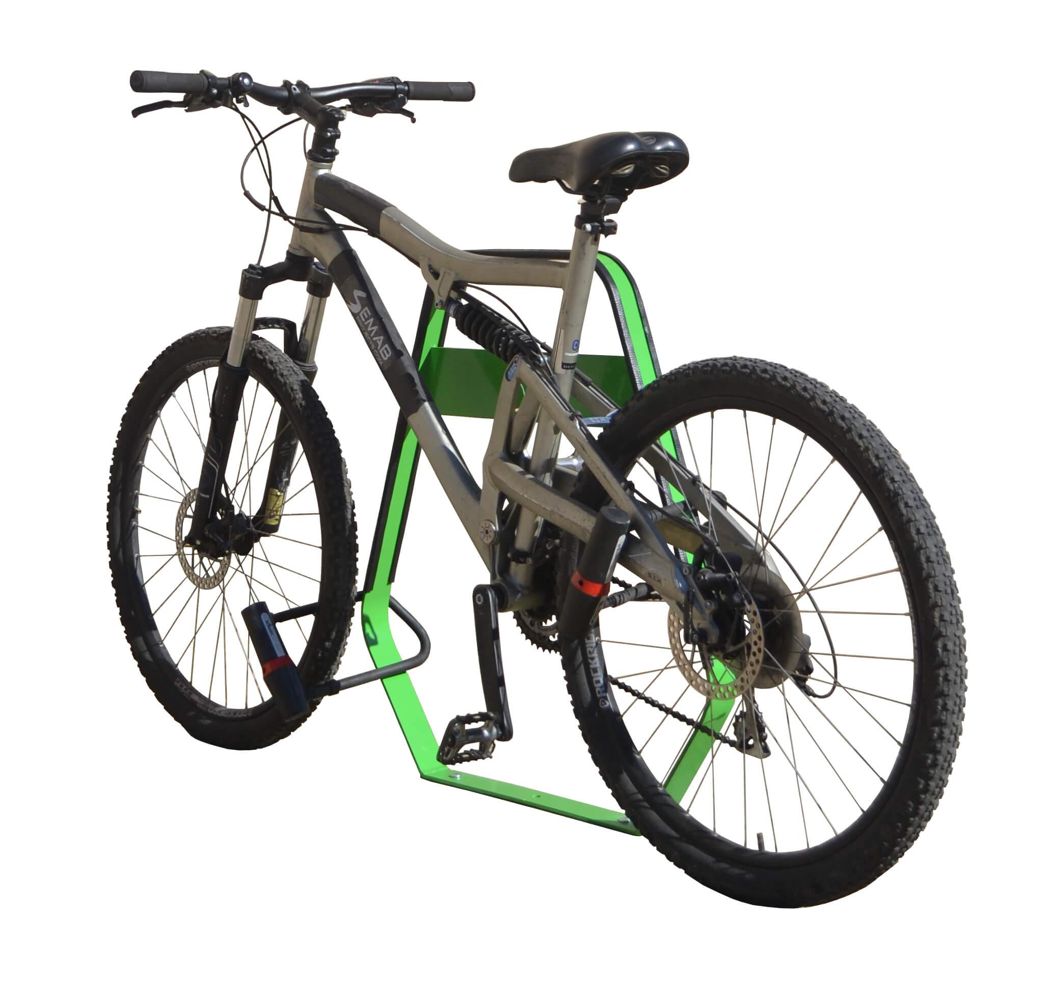Banyoles fietsbeugel - ideaal voor in een publieke ruimte