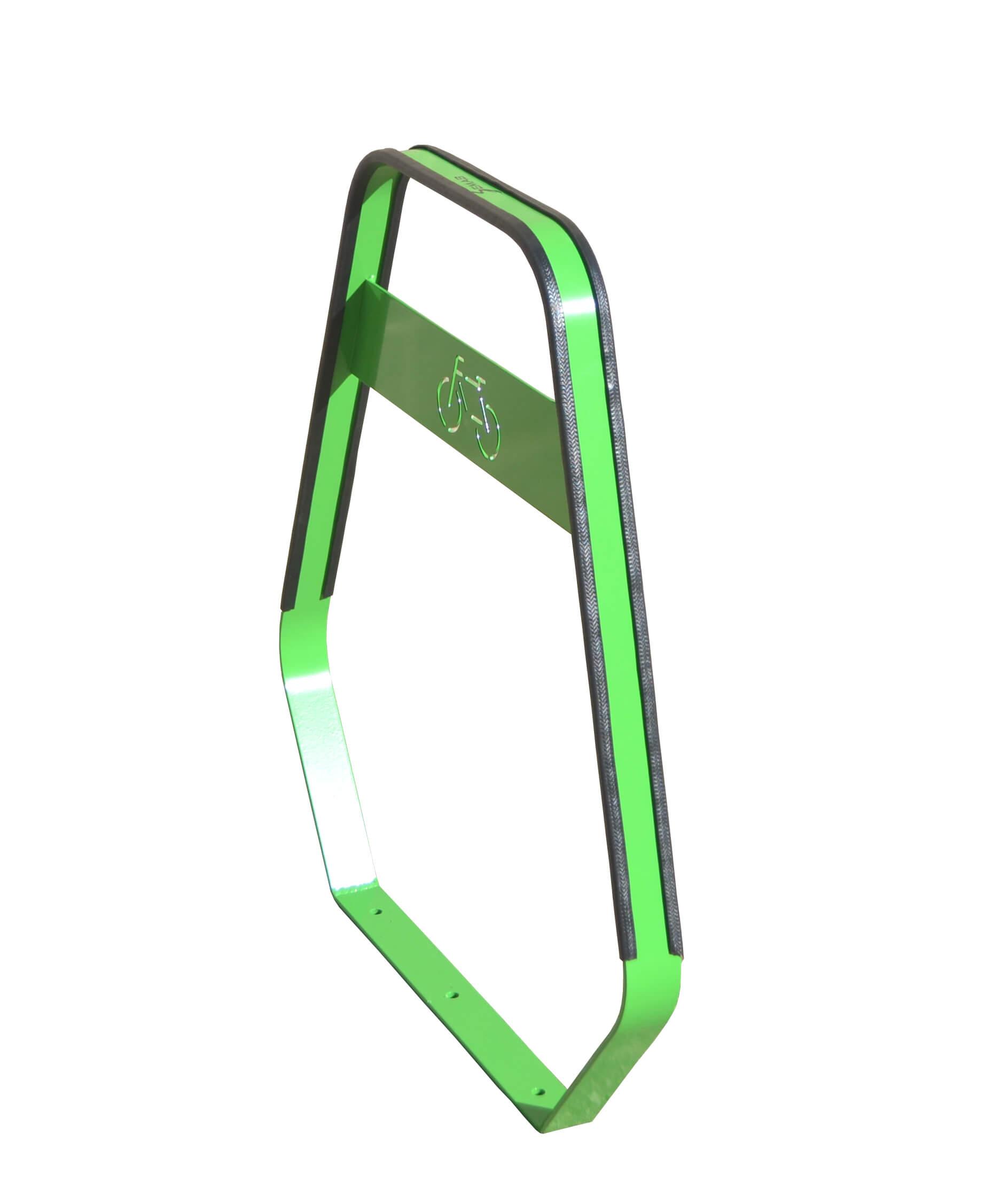 Banyoles fietsbeugel - groen